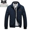Jaket Inv Bomber Simple Navy