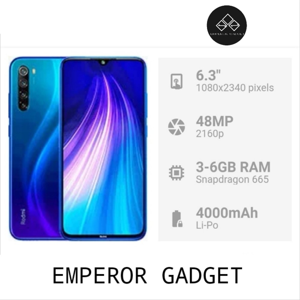 With such high internal storage, you will be able to store your videos,. Jual XIAOMI REDMI NOTE 8 RAM 4-64GB di lapak EMPEROR GADGET dumagama