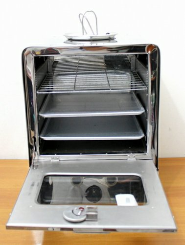OVEN GAS STAINLESS STEEL HOCK PORTABLE 03 GS
