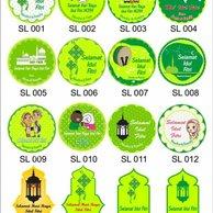 Jual Produk Sticker Label Idul Fitri Murah Dan Terlengkap Mei 2020