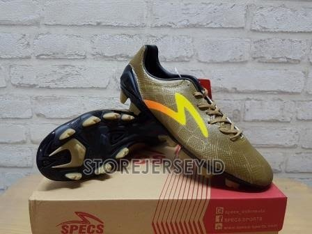Sepatu Bola Specs Accelerator Fury Gold Yellow Original