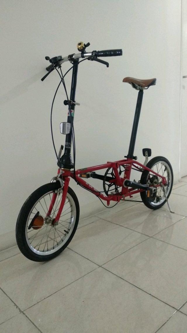 Jual Dahon da bike klasik - ngebut n brani diadu sama yg ...