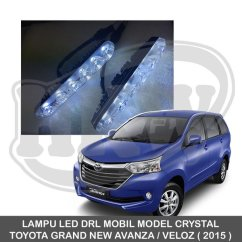 Harga Grand New Avanza Veloz 2019 1.3 Std M/t Lampu Led Mobil Terbaru Web Drl Model Crystal Toyota