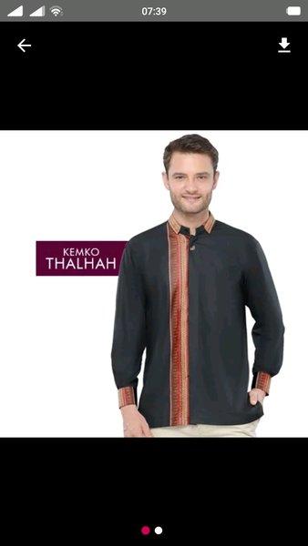 rabbani baju koko kemko thalhah original terbaru