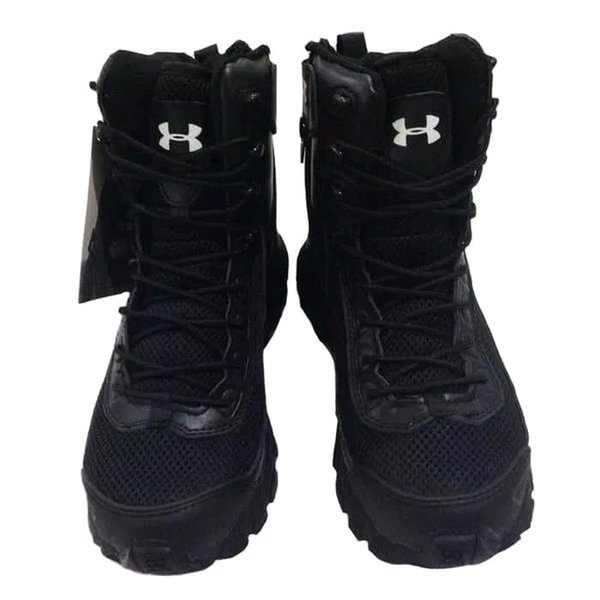 SEPATU UNDER ARMOUR TACTICAL ARMY BOOTS HITAM 8INC