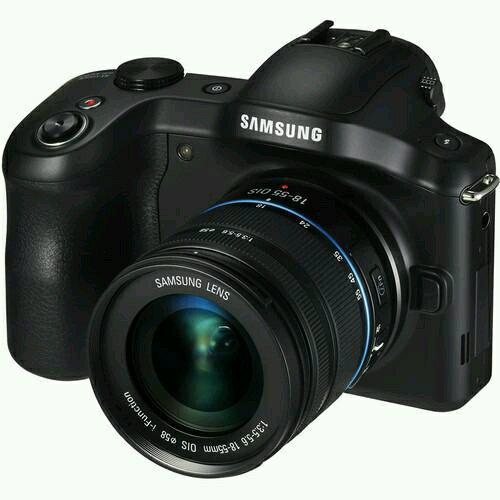 Camera Samsung Galaxy NX Kit - Kamera Model Baru Yang Bisa di Pasangkan Sim Card Kartu Perdana Telepon dan Bisa Jadi Android Smartphone