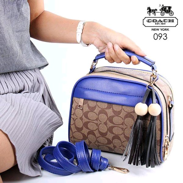 Tas Wanita COACH Rosse Handbag Branded Import New Arrival Hot Item Best Seller Fashion Mewah Cewek Sale Promo Batam Terlaris