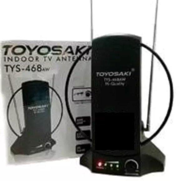 Antena dalam toyosaki original TYS 468 aw dengan fitur terbaru Gain Indikator