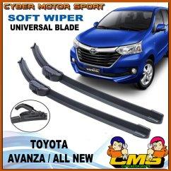 Ukuran Wiper Grand New Avanza Stop Lamp Veloz Jual Toyota Model Pisang Blade All Depan 1