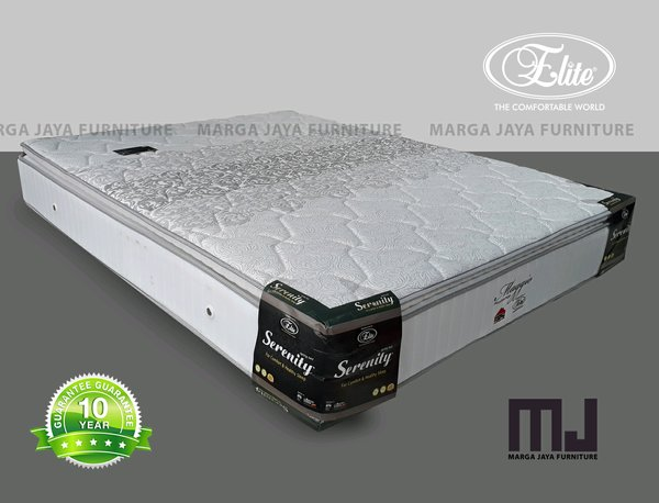 Kasur spring bed ELITE + Pillow Top uk 180 x 200 cm.
