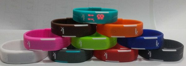 PUMA ORI ANTI AIR! JAM Gelang Digital LED Watch WATERPROOF Anti Air Tangan + BOX
