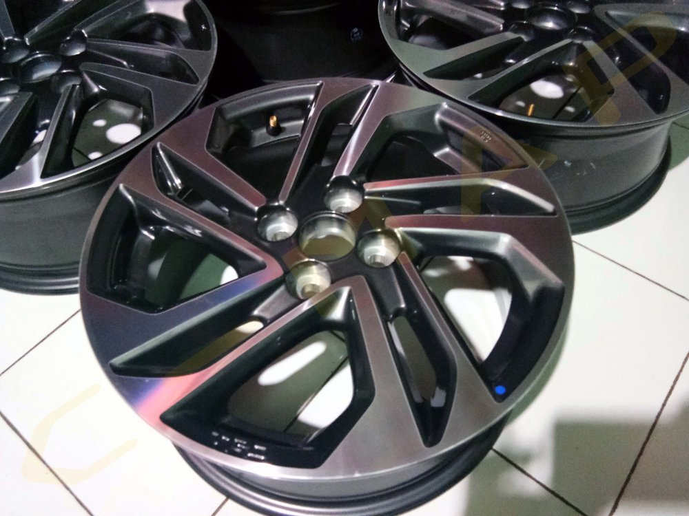 ukuran velg all new yaris trd harga headlamp grand veloz jual original hykers 2017 di lapak cmap