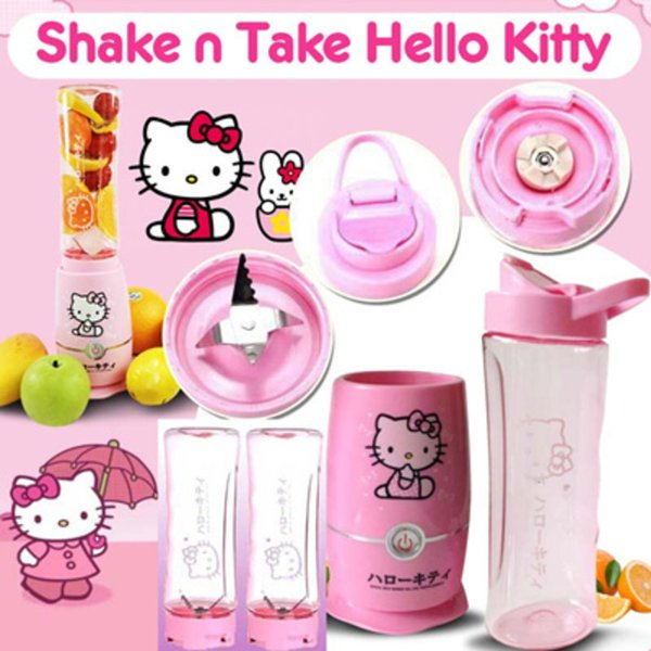 Recommend Mini Blender Shake and Take Hello Kitty 2 Cup Portable