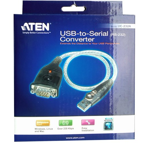 USB to Serial RS232 Converter DB9 ATEN UC232A