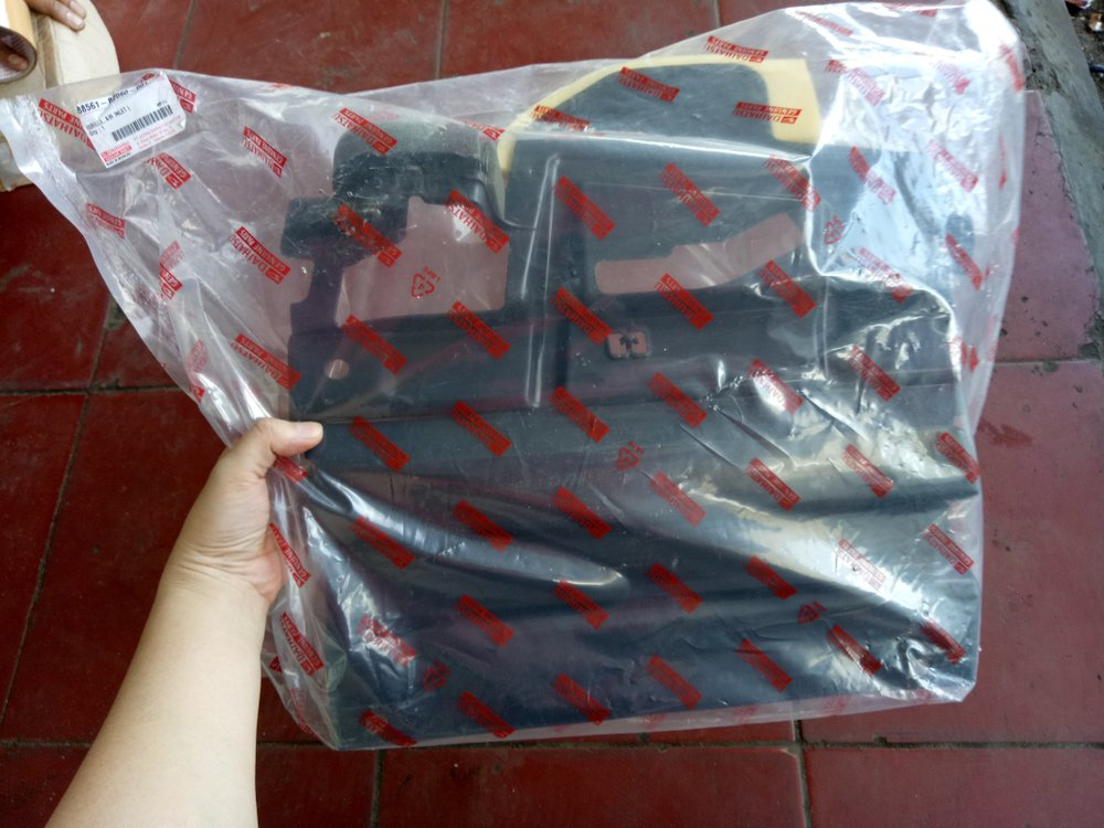 pelindung radiator grand new avanza 1.3 e std jual cover depan kanan all 1 3 atau xenia manual ori