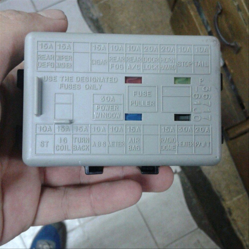medium resolution of suzuki apv fuse box wiring diagram insidejual box sekring apv dan futura efi di lapak new
