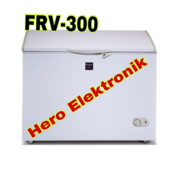 Chest freezer Sharp FRV-300 freezer books