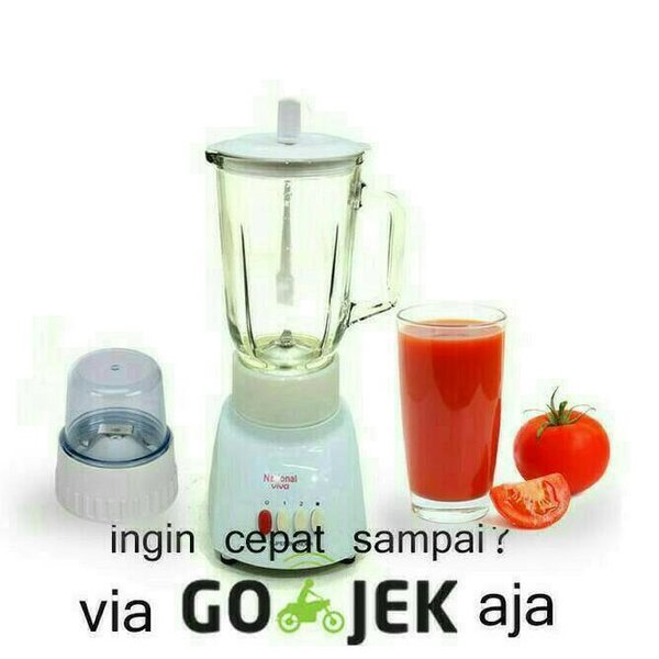 TERLARIS BLENDER NATIONAL KACA 2 IN1 T9GN BISA GOJEK MURAH
