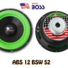 Speaker Subwoofer 12 Inch American Boss ABS 12 BSW 52