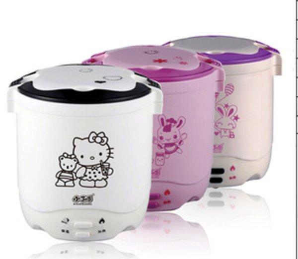 Sale mini rice cooker hello kitty hk slow warmer hk 2 susun kity nasi bubur