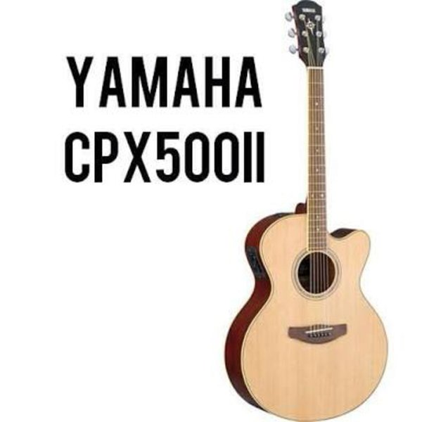 gitar akustik guitar accoustic YAMAHA CPX500ii CPX 500ii KHUSUS SBY