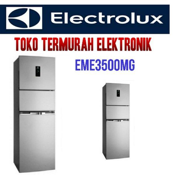ELECTROLUX KULKAS INVERTER 3 PINTU EME3500MG