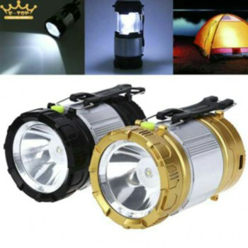 LAMPU EMERGENCY LENTERA TARIK SENTER