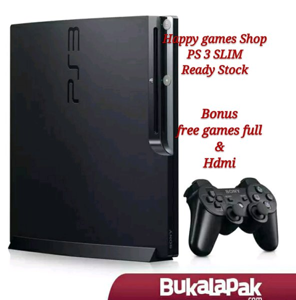 PS 3 slim 500GB full set