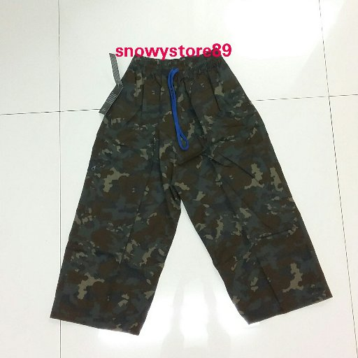 Celana Sirwal Loreng 78cm Cokelat Abu
