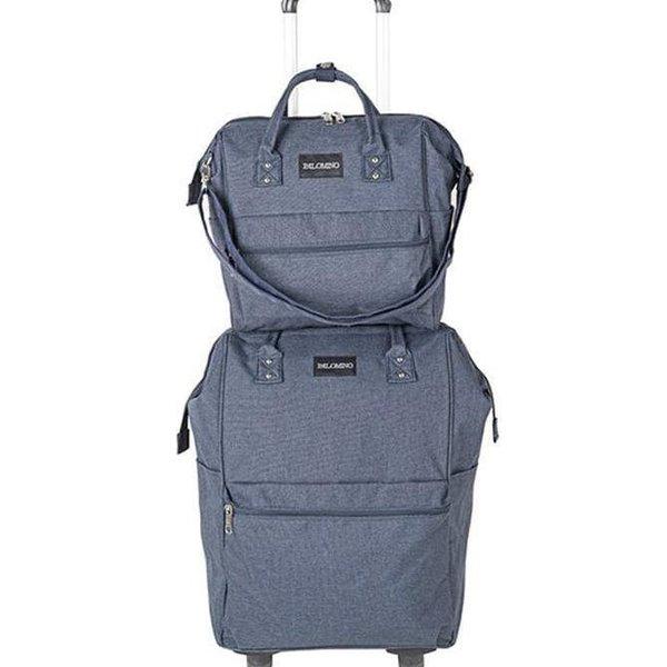 Jual TAS TRAVEL Palomino Camelia Travelbag- Blue ORI di Lapak zoeyshop987 |  Bukalapak