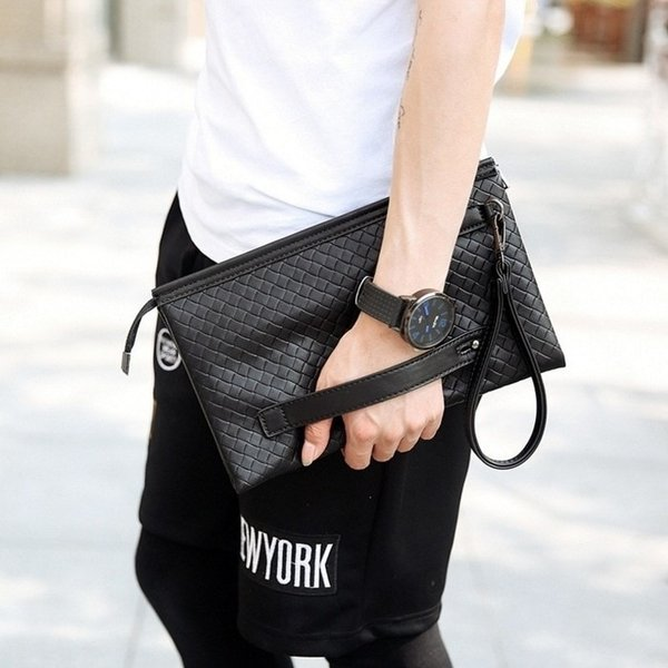BEST SELLER hand bag pria NYX clucth cowok mirip bottega dompet pria