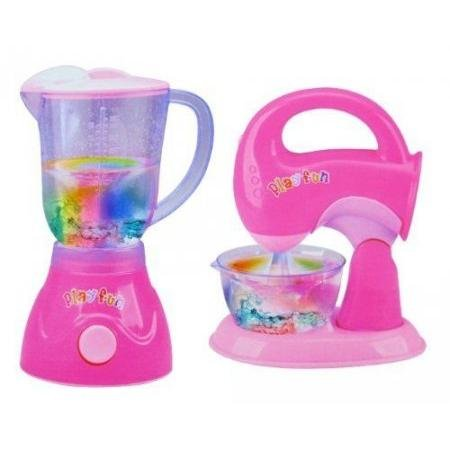 Mainan Anak Blender dan Mixer Baterai Set My Kitchen Appliances 018-03