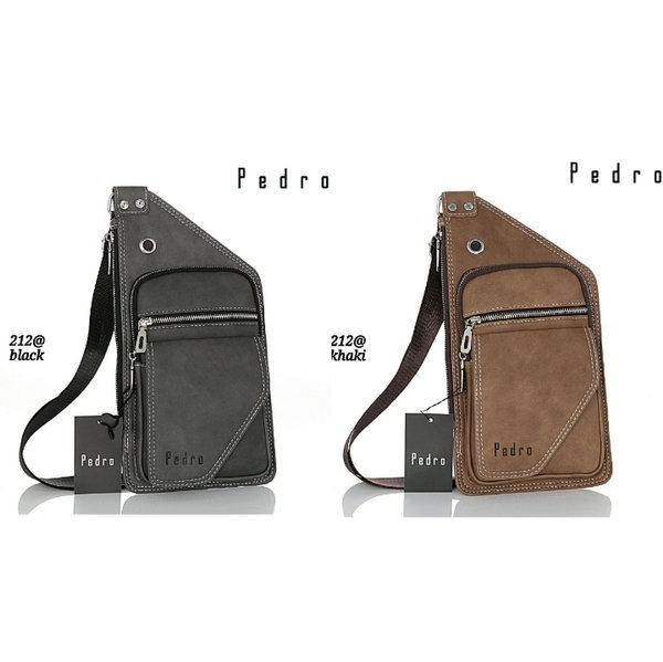 Tas SlingBag PEDRO Sliming 212  TT 71  batam impor original fashion branded reseller sale