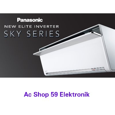 AC PANASONIC 1 PK CS-VU10SKP NEW ELITE INVERTER SKY JAPAN SERIES NEW