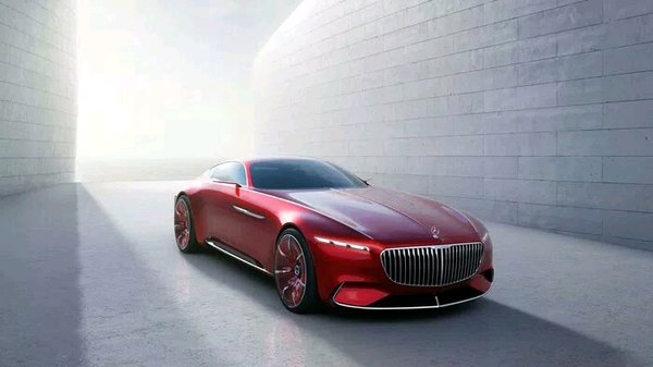 wallpaper 3d wallsticker vision mercedes maybach - 2088