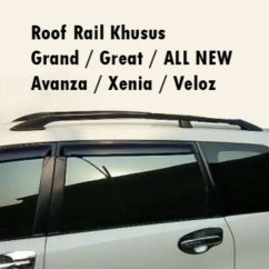 Roof Rail Grand New Avanza Veloz Lampu All Yaris Trd Jual Cek Harga Di Pricearea Com Khusus Great Xenia