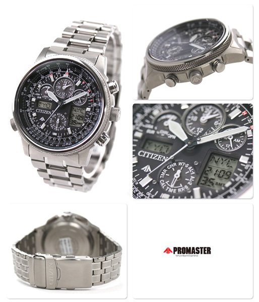 BEST SELLER CITIZEN 65-2271-01 65-2271 PROMASTER SKY ECO-DRIVE SOLAR POWER