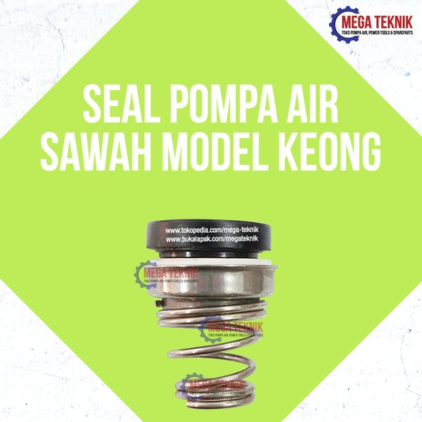 Mechanical Mekanik Seal Pompa Air Sawah Model Keong