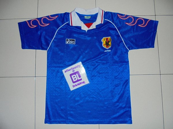 Jersey Sepakbola Non Original - Japan World Cup 98 Home Size XXL - JAP-1414