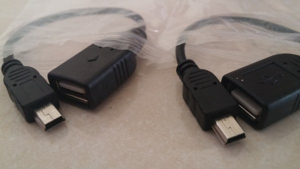 USB OTG V3(mini usb 5pin)