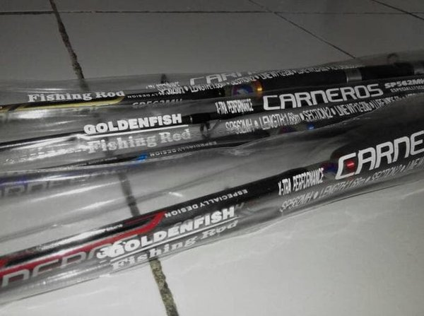 Spessial Joran Pancing Golden Fish Carneros 168Cmcarbon