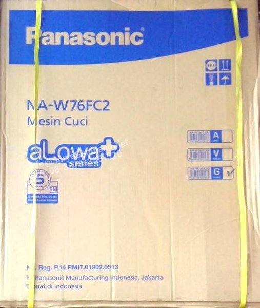 Mesin Cuci Panasonic NAW76FC2A Alowa Washing Machine AsliBaruGaransi