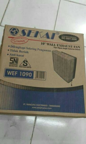 Kipas angin GC504 Sekai Wall Exhaust Fan Kipas Angin Dinding WEF 1090