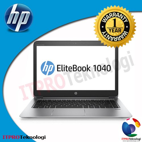 HP Elitebook Folio 1040 G3 - Core i5-6200U-8GB-256GBssd-14FHD-W10