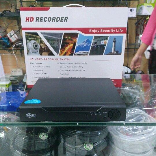 DVR 8CH Solid Hybrid 5 in 1