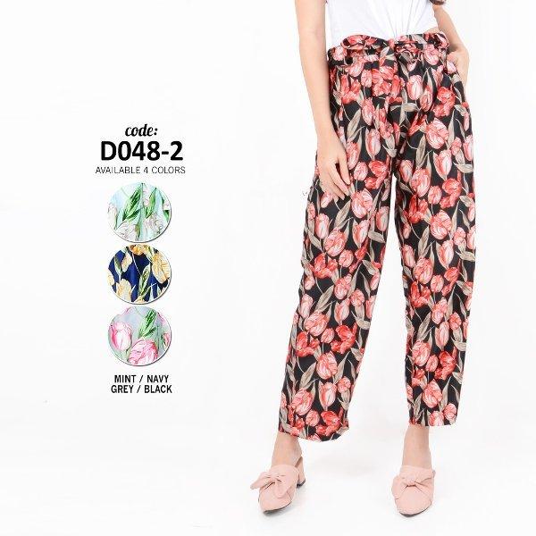 Terlaris Monellina Fashion Celana Kulot Murah Wanita Cewek Kekinian D 0482 Berkualitas