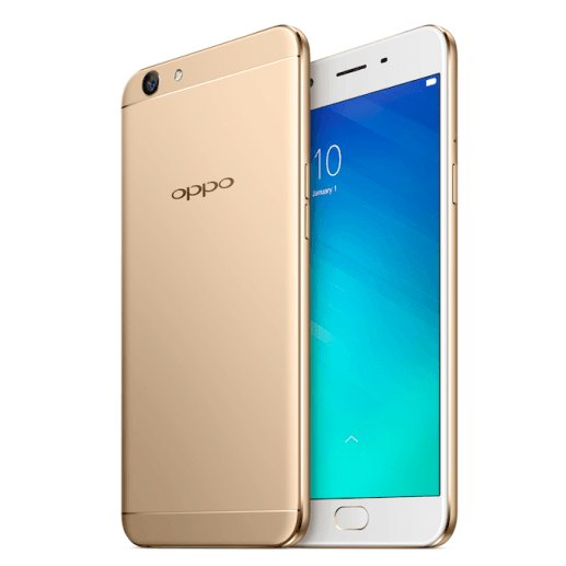 FREE POWERBANK - OPPO A39  32GB  Rose Gold  4G Lte