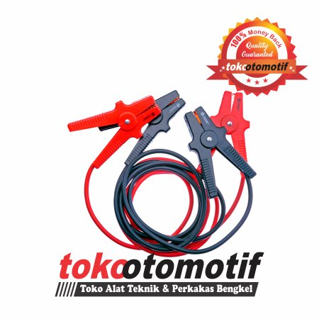 Cable Booster / Cable Jumper / Kabel Accu 200A x 2.5M ( Top Quality ) Alat Bengkel Mobil
