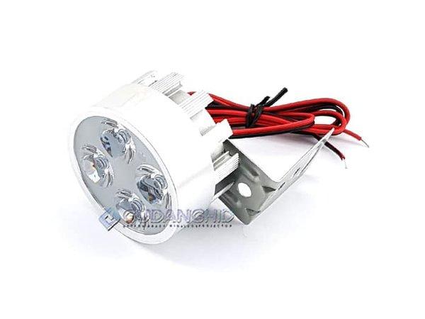 NEW Lampu Tembak Sorot LED Spion Motor Lemari Etalase 4 Mata 12V 2W Murah