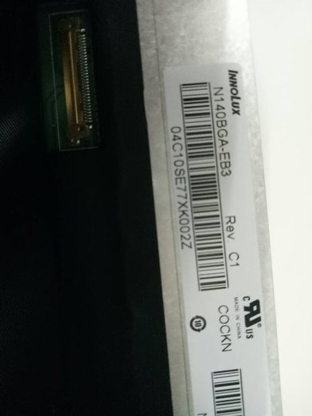 Unik led 14 slim soket 30 pin for asus acer lenovo hp  dan toshiba Murah